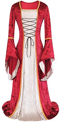 Women's Medieval Renaissance Dress Halloween