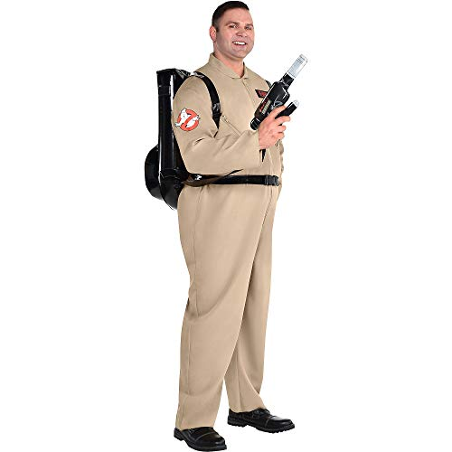 Ghostbusters Halloween Costume with Proton Pack, Jumpsuit, and Backpack