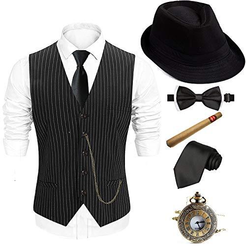 1920s Men's Gatsby Gangster Set